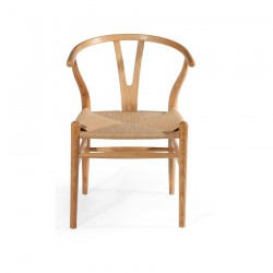 Replica Hans Wegner Wishbone Chair natural ash wood
