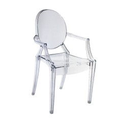 Replica Philippe Starck Louis Ghost Chair clear 1