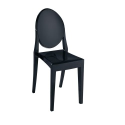 Replica Philippe Starck Victoria Ghost Chair black