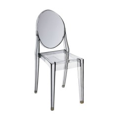 Replica Philippe Starck Victoria Ghost Chair smoke