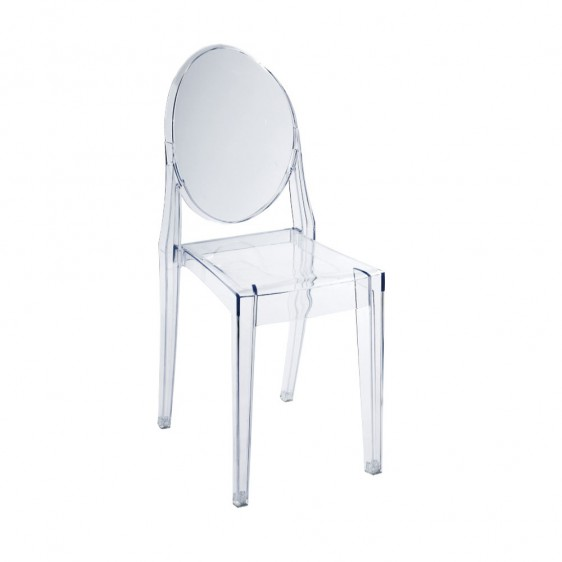 Replica philippe starck victoria ghost chair for Chaise ghost philippe starck