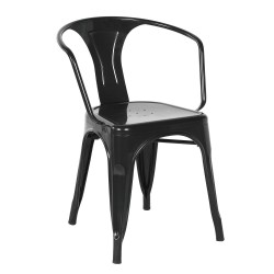 Replica Xavier Pauchard Tolix Armchair black