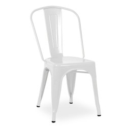 Replica Xavier Pauchard Tolix Chair white 2