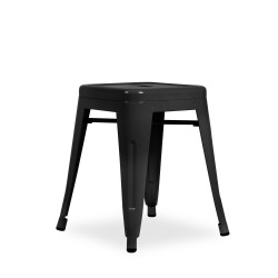 Replica Xavier Pauchard Tolix Stool 45cm black 1
