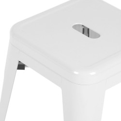 Replica Xavier Pauchard Tolix Stool 45cm white 1