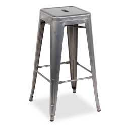 Replica Xavier Pauchard Tolix Stool - 75cm Transparent Powdercoated 2