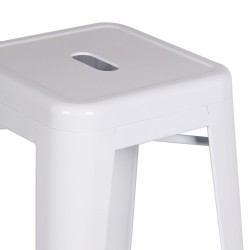 Replica Xavier Pauchard Tolix Stool 75cm white