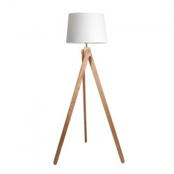 Twisted Tripod Floor Lamp