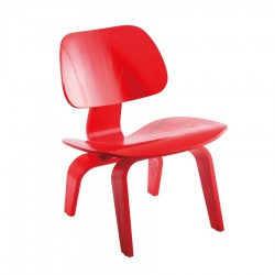 Replica Eames DCW Dining Chair red