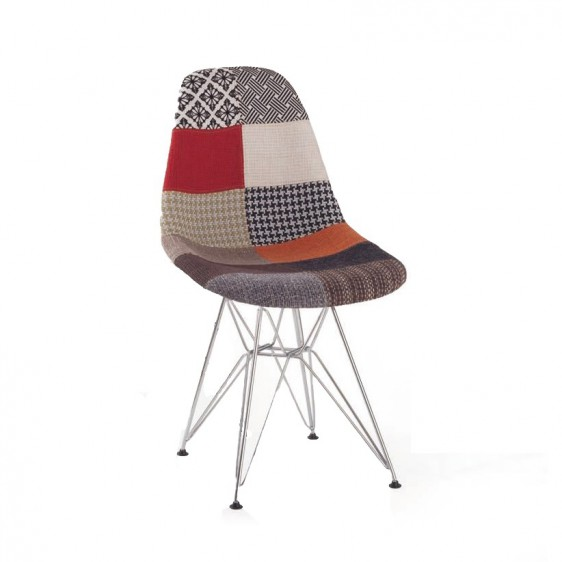 Awesome eames dsr with eames dsr with namaak eames stoelen for Eames kuipstoel