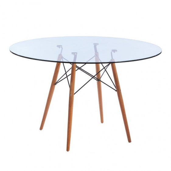replica eames eiffel wood leg table. Black Bedroom Furniture Sets. Home Design Ideas
