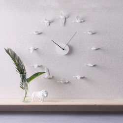 Flying Birds Clock - Migratory Birds o shape 1