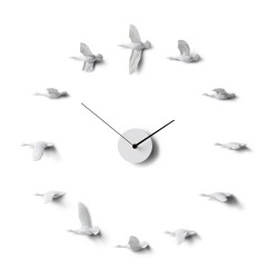 Flying Birds Clock - Migratory Birds o shape