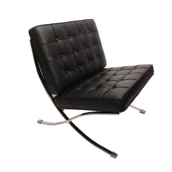 Place furniture Barcelona single chair black