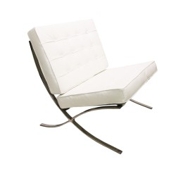 Place furniture Barcelona single chair white