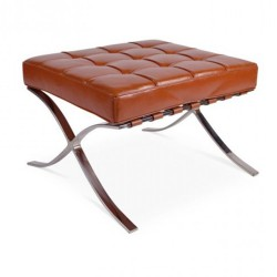 Place furniture Barcelona single ottoman cognac