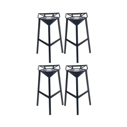 Place furniture Replica Konstantin Grcic Stool One set of 4
