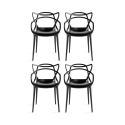 Place furniture Replica Phillipe Starck Masters Chair set of 4