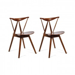 Place furniture Replica Vilhelm Wohlert Piano Chair set of 2