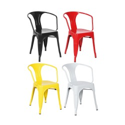 Place furniture Replica Xavier Pauchard Tolix Armchair black