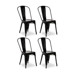 Place furniture Replica Xavier Pauchard Tolix Chair set of 4
