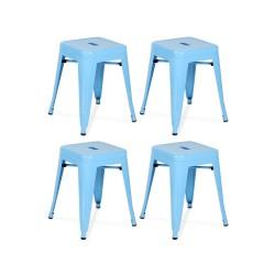 Place furniture Replica Xavier Pauchard Tolix Stool 45cm set of 4