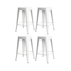 Place furniture Replica Xavier Pauchard Tolix Stool 65cm set of 4