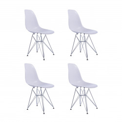 Replica Eames DSR Dining Chair White