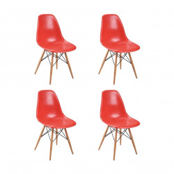 Replica Eames DSW Dining Chair red new