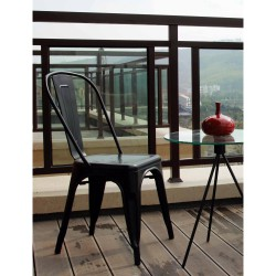 Replica Xavier Pauchard Tolix Chair black 2