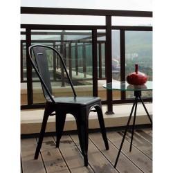 Replica Xavier Pauchard Tolix Chair black 2