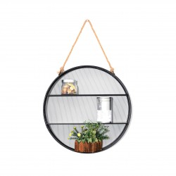 PLACE FURNITURE FLORO ROUND HANGING SHELF
