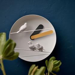 Flying Birds Round Clock – Sparrows V1 06