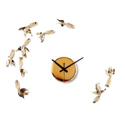 Place Furniture -Goldfish X CLOCK - Gold Plated 01