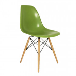 Replica Eames DSW Eiffel Dining Chair green place furniture