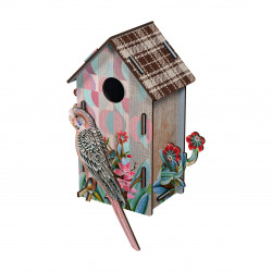 Place Furniture MIHO UNEXPECTED Wall Decorative Bird House casam401