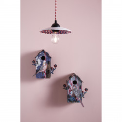 Place Furniture MIHO UNEXPECTED Wall Decorative Bird House emo_casam401-402-lamp329_a