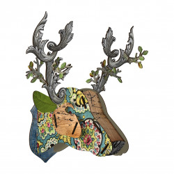 Place Furniture MIHO UNEXPECTED Wall Decorative Deer big34