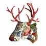 Place Furniture MIHO UNEXPECTED Wall Decorative Deer big63