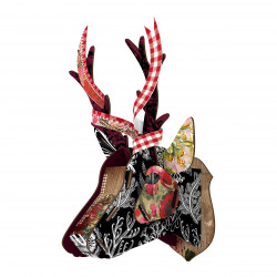 Place Furniture MIHO UNEXPECTED Wall Decorative Deer capri257