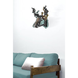 Place Furniture MIHO UNEXPECTED Wall Decorative Deer emo_big259_a
