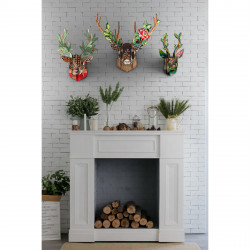 Place Furniture MIHO UNEXPECTED Wall Decorative Deer stags_deers