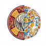 PLACE FURNITURE SELETTI HYBRID Tableware Dessert Plate 09122-Huaricanga 01