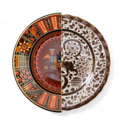 PLACE FURNITURE SELETTI HYBRID Tableware Dinner Plate 09141-Mitla 01