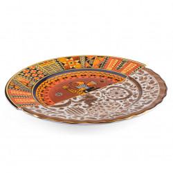 PLACE FURNITURE SELETTI HYBRID Tableware Dinner Plate 09141-Mitla 02