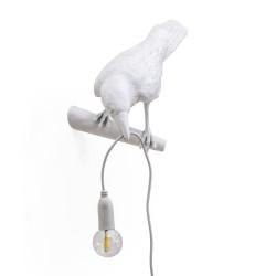 PLACE FURNITURE SELETTI LIGHTING BIRD LAMP WHITE LOOKING LEFT 04