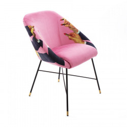 PLACE FURNITURE Seletti-Toiletpaper-Magazine 16046-padded-chair-pink-lipsticks-01
