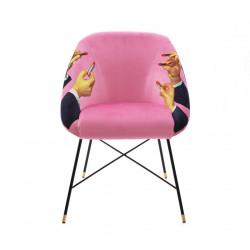 PLACE FURNITURE Seletti-Toiletpaper-Magazine 16046-padded-chair-pink-lipsticks-08