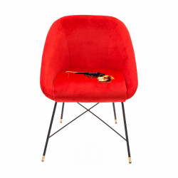 PLACE FURNITURE seletti-toiletpaper-revolver-padded-chair 1