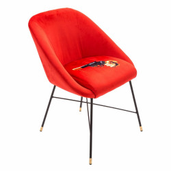 PLACE FURNITURE seletti-toiletpaper-revolver-padded-chair 2
